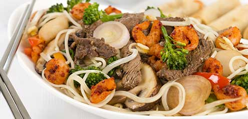 267. Mixed Meat Fried Crispy Noodles