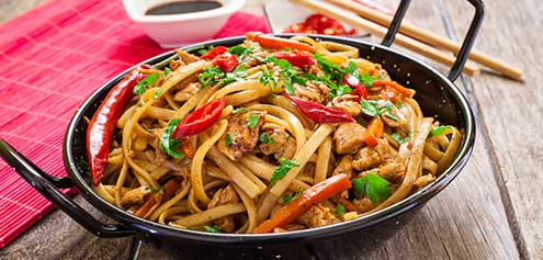 252. House Special Chow Mein