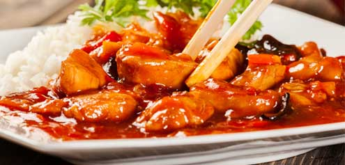 169. Sweet & Sour Chicken